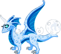 My favorite, the rare and limited Blue Moon Dragon.