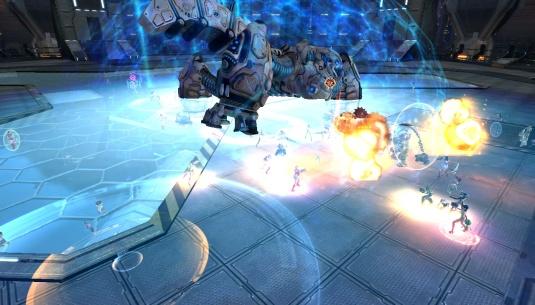 Free Knights versus Titan Caergate Map, Venus server