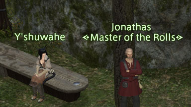 Jonathas, Master of the Rolls (Achievements NPC)