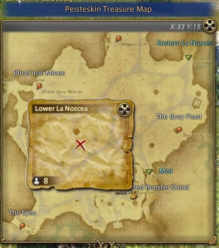 Images of Treasure Maps Ffxiv - #rock-cafe