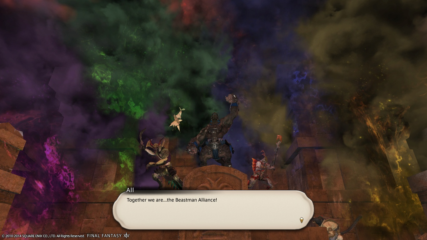 FFXIV: Call of the Wild   Crazy Apple