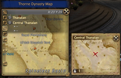 Central Thanalan near Gate of Nald