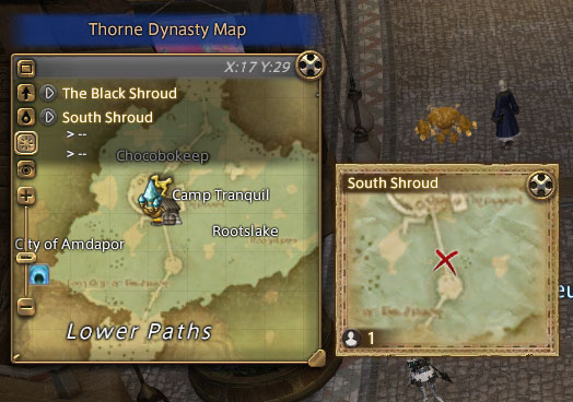 FFXIV Thorne Dynasty Map Locations – Image Heavy END
